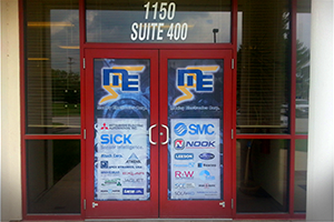 Front Doors for Moxley Electronics Corp.